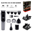 Rechargeable Mens Body Hair Beard Clipper Trimmer Shaver Grooming Kit