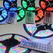 〖Follure〗10M 3528 SMD RGB 600 LED Strip light string tape+44 Key IR remote control
