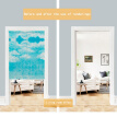 Japanese Cotton Linen Printed Decor Doorway Curtain Wall Hanging Tapestry Screens & Room Dividers