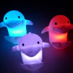 Bluelans Cute Dolphin 7 Colors Changing LED Night Light Home Kids Bedroom Lamp Decor