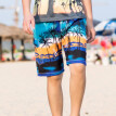 Tailored Men Hawaiian Trunks Quick Dry Beach Surfing Running Swimming Short Pant
