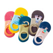 Children Spring Summer Cute Mesh Breathable Print Yarn Without Bones Casual Socks Cotton Socks
