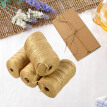 Feet Natural Jute Twine Best Arts Crafts Gift Twine Packing String For DIY Crafts, Festive Decoration and Gardening Applications