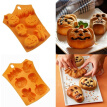 Creative Halloween Home Decoration Silicone Pumpkin Chocolate Cake Mold Kitchen Baking Tool