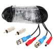Video Power Siamese BNC Cable 65ft 20m for Analog AHD Surveillance CCTV Camera DVR Kit