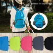 Foldable Backpack Travel Unisex Outdoor Bag Oxford Climbing Cycling Camping Hiking Lightweight Shoulder Rucksack