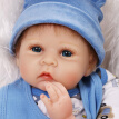 Baby Dolls 21in Reborn Baby Rebirth Doll Kids Gift Cloth Material Body Educational Toy  C9I3D8L9