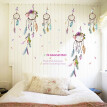 Dreamcatcher Wall Stickers Lucky Dream Catcher Feathers Wall Sticker Decal Mural Art Decals Home Decor Fashion