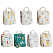 Tote Bag Cotton Cooler Bag Large Capacity Case For Lunch Box Kitchen Utensils Waterproof Cartoon Insulated Lunch Bag
