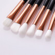 Autunmfen New Arrival 12 Pcs Eye Brush High-end Wooden Handle Eye Shadow Brush Makeup Brush Set