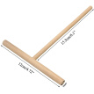 Wooden Stick Rake Round Batter Pancake Crepe Spreader Rolling Pin Kitchen Tool