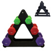 Weight Lifting Dumbbell Rack Stands Weightlifting Holder Dumbbell Floor Bracket Dumbbell Supportor Equipment