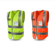 HJ-High Quality Reflective Vest Men Women High Visibility Sports Outdoor Reflective Safety Clothing Working Clothes Running Vest