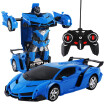 Tailored 1:18 Electric Remote Control Car1 Button Remote Control Deformable Vehicle Robot