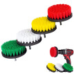Lovehome 4Pcs Grout Power Scrubber Cleaning Brush Cleaner Combo Tool Kit