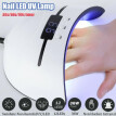 36W Pro Nail Polish Dryer Lamp USB Direct Charging 12 LEDs UV Gel Acrylic Curing Light Manicure Timer