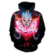 2019 New Fashion Men's Hoodie 3D Clown Pattern Printing Long Sleeve Loose Casual Pullover Top