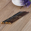 1PCS 6 Colors  Makeup Eyebrow Enhancer Waterproof Eyebrow Pencil Pen High Quality Lating Dark Brown Eye Brow Pencil