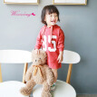 Autumn Long Sleeve Girls Dress Letter Sweater Hood Baby Girl Clothes Kids Dress For Girls Newborn Casual Fashion Baby Dress