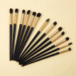Gobestart 13 Pcs High Quality Wooden Handle Eye Shadow Makeup Brush Set