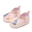 Baby Girls Shoes Autumn Tassel Toddler Infant Non-Slip First Walkers Soft for Newborn