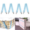 〖Follure〗4Pcs Metal Bed Sheet Fasteners Mattress Strong Clip Grippers Elastic Holder