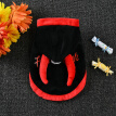 Halloween Pet Costumes Cute Cosplay Devil Cloak Cape Dog Cap with Cosplay Festival Hooded Clothing XS-XL