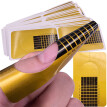 5Pcs Nail Art Tips Extension Forms Guide French DIY Tool Acrylic UV Gel