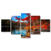 5 Panels Landscape Pictures Paintings On Canvas Modern Contemporary Wall Art Decor Poster For Bedroom Living Room Home Decoratio