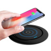 Mobile Phone Wireless Charger Round Fast Charging QI Intelligent Cellphone Desktop Pad