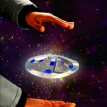 Magic UFO Toy Mystery Mid Air UFO Floating Fly Saucer UFO Magic Trick Magician Trick Props Show Tool Magic Toy for Kids