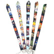 Anime Naruto Lanyards Personality Lanyard Cartoon Neck Strap For Keys Id Card Mobile Phone Straps Jewelry Lanyard