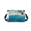 ALAZA Lunch Box Sea Water Nature Bird Insulated Lunch Bag Large Cooler Tote Bagfor Men, Women