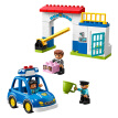 LEGO building block Duplo police station 2 years old + 10902 children's toys boys and girls birthday gifts big particles in January new