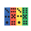 【YIWULA】Eva Foam Dice Six Sided Spot Dice Kid Game Soft Learn Play Blocks Toy