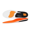 1 Pair PU Insole Shock Absorbing Anti-slip Massage Insole Shoes Pad Sports Sneakers Insert Cushion For Men & Women