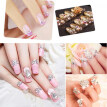 12 Grid 3D DIY Acrylic Glitter Nail Art Rhinestone Sequins Decor Manicure Tips