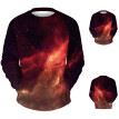 Men's Casual  Splash-ink 3D Printing Long Sleeve T Shirt Tank Top Vest Blouse