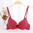 Seamless Underwire Women Sexy Bra Color Cotton Thin Bras Smooth Gathered Underwear Girl Wrapped Push Up Bra for Women