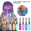 nomeni Hair Chalk Girls Temporary Hair Color Safe Washable Salon Hair Dyeing Mascara