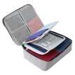 New High Quality Fabric Wallet Passport Holder Large Capacity Travel Document Organizer Bag for Passport Cash Credit Cards 1PC