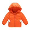 Autumn Winter Boy Warm Jackets For Girls Christmas Coat Baby Girl Clothes Lamb cashmere Kids Hooded Infant Lightweight Outerwear