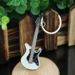 Hot Sale Guitar Key Chain Buckle Keychain Ring