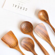 1Pcs Unpainted Acacia Wooden Kitchen Tools Unique Household Solid Wood Kitchen Tools New