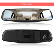 High Quality 4.3 inch Driving Recorder Car DVR Camera Full HD 1080P Single Lens Night Vision Recorder With 32G Memory Card