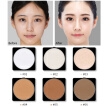 Make Up Pressed Powder With Puff Natural Face Powder Mineral Foundations Oil-control Brighten Concealer Whitening