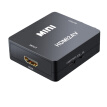 1080P Mini HDMI to VGA to RCA AV Composite Adapter Converter with 3.5mm Audio cable VGA2AV / CVBS + Audio to PC HDTV Converter