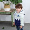 Baby Clothes 1-6T Girl/baby Boy Hooded Down Jackets Casual Cartoon Pattern Windproof And Warm Lightweight Children's Down Coat