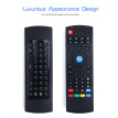 W_2.4G Fly Air Mouse Raspberry pi 3 Wireless Keyboard Remote control Learning keyboard Combo for Android Smart TV Computer