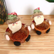Hot Christmas Candy Storage Basket Gift Holder Ornaments Santa Clause Snowman Elk Gifts Cookies Bags Christmas Home Decorations
